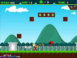 Ben 10 In Mario World game