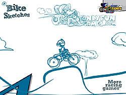 Bike Sketches game