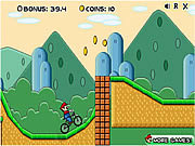 Mario BMX game
