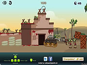 Play Zombie tank battle Game