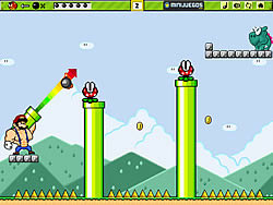Super Bazooka Mario game
