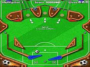 Play Pinball football Game