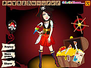 Play Pirate carnival dress up Game