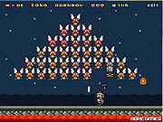 Super Mario Invader game