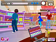 Supermarket Kissing game