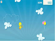 Play Tweety s cloud jumper Game