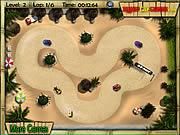 Play Tropical karting Game