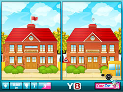 School Is Over Differences game