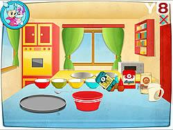 Preparing Macarons game