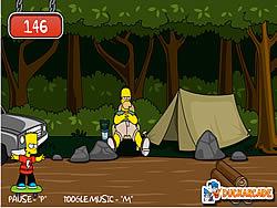 Bart Simpson Skateboarding game