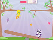 Play Tweety s tweetter totter Game