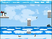 Play Hungry little penguins Game