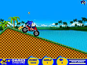 Play Sonic atv ride Game