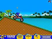 Play Sonic atv ride Game