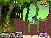 Juega al juego gratis Cavemen vs Dinosaurs