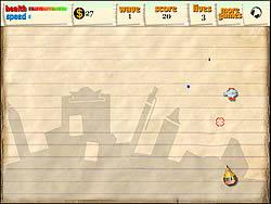Paper Battle game