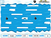 Play Penguin crossing Game