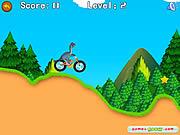 Juega al juego gratis Dinosaur Bike Stunt