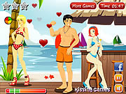 Play Kiss kiss paradise Game