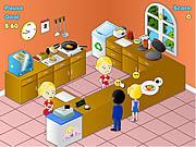 Play Fried chicken restaurant Game