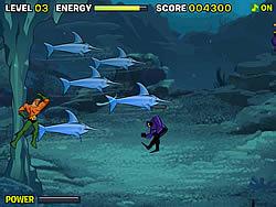 Aquaman Defender of Atlantis game