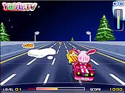 Play Yuju pink car Game