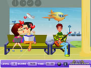 Play Airport kiss Game
