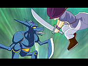 Watch free cartoon Ninja vs Robot