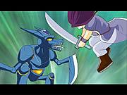 Watch free cartoon Ninja vs Robot