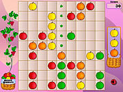 Play Fruity lines Game