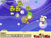 Play Cute rabbit vs monsters Game
