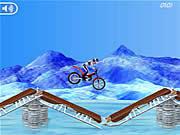 Play Bike mania on ice Game