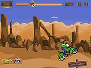Cowboy Luigi Bike game