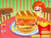 Play Deluxe hamburgers Game
