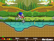 Sonic Moto Adventure game