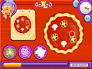 Play Lily s a pizza maker Game