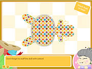 Play Granny s workshop bunny doll Game