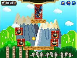 Mario Block Ball game