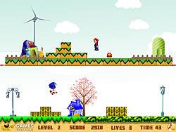 Mario n Sonic game