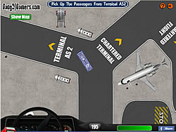 LAX Shuttle Bus game