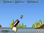 Mario Toss game