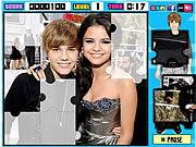Justin Bieber Puzzle Set game