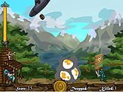 Retired Wizard Defense game