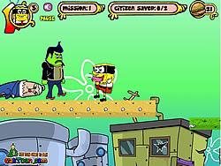 Spongebob M Mask game