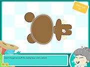 Play Grannys workshop teddy bear Game