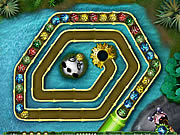 Kung Fu Zuma game