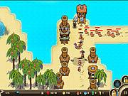 Castaway Island Tower Defense game