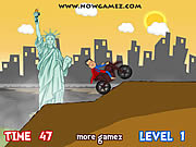 Play American dirt bike Game