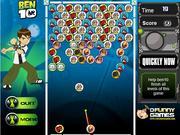 Ben 10 and alien balls game