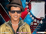 Bruno Mars Makeover game